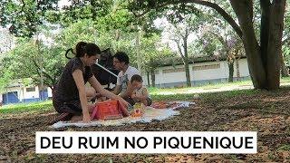 DEU RUIM NO PIQUENIQUE | Vlog #108 | Lia Camargo