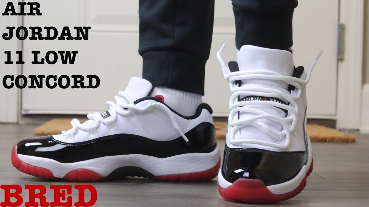 Early Look Review And On Feet Of The Air Jordan 11 Low Concord