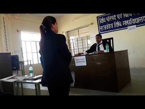 Govt law college ajmer moot court