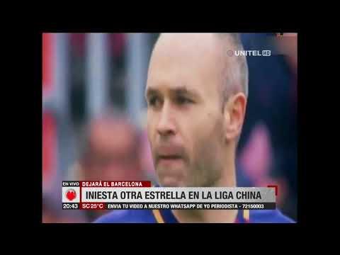 A partir de junio, Andrés Iniesta jugará en la liga china