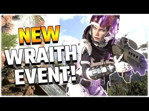 NEW Wraith Event!! VOIDWALKER! (Apex Legends PS4)