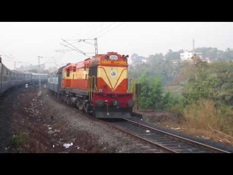 INDIAN RAILWAYS : Bangalore to Udupi (night journey) Part 2 : Mysore - Udupi