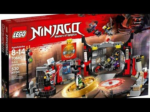 Recenzja Zestawu Lego Ninjago Synowie Garmadona Kwatera Główna Osg
