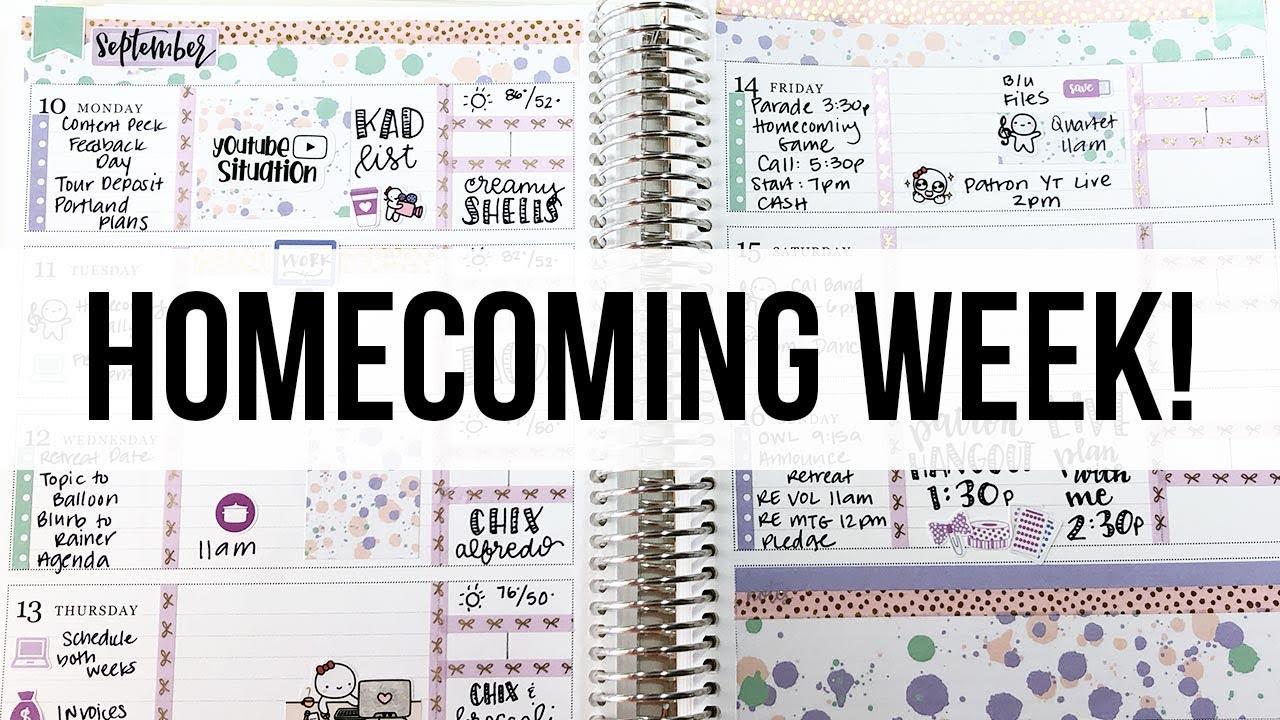 Weekly Plan With Me   Erin Condren Vertical   NediDesigns