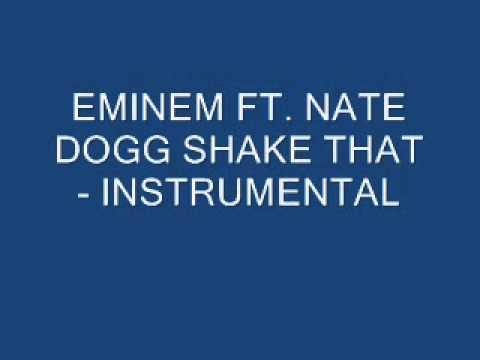 EMINEM SHAKE THAT INSTRUMENTAL.