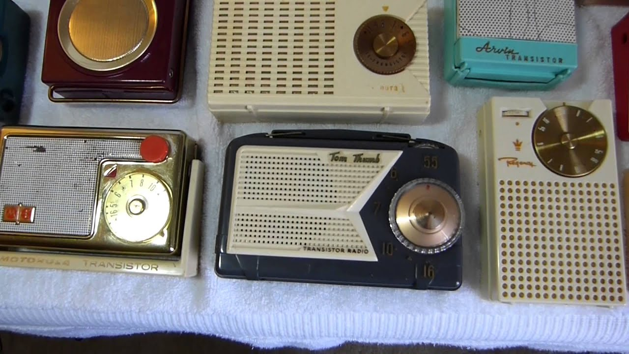 100th Video Celebration  Early American Pocket Transistor Radios  All Of The  U0026quot Firsts U0026quot  I Have