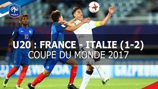 CDM U20 : France - Italie (1-2)
