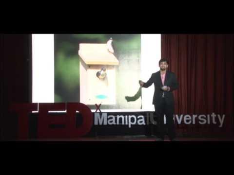 Self-discovery through creative expression | Dwiref Oza | TEDxManipalUniversity