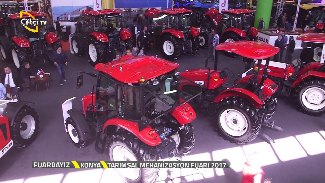 fuardayiz basak traktor konya tarim fuari 2017