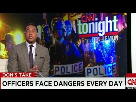Lemon: Police deserve our gratitude and...