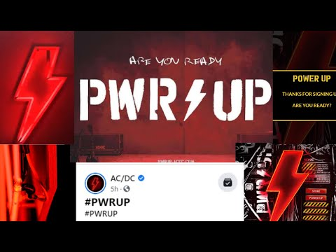 """New AC/DC album is titled """"Power Up""""? - social media explodes #pwrup"""