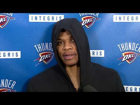 Russell Westbrook Pregame Interview / Thunder vs Bulls / Nov 15