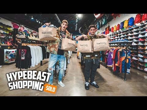 Teenagers Spend $8,000 Dollars Hypebeast Shopping!