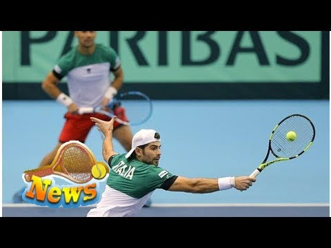 Davis cup: italy take lead against japan