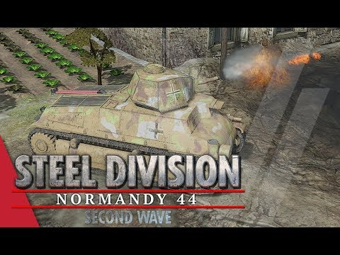 TGPT Round 1! Steel Division: Normandy 44 - Lightrare vs YueJin  (Game 1, Cheux)