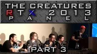 "The Creatures Panel - Part 3 ""Sp00n"