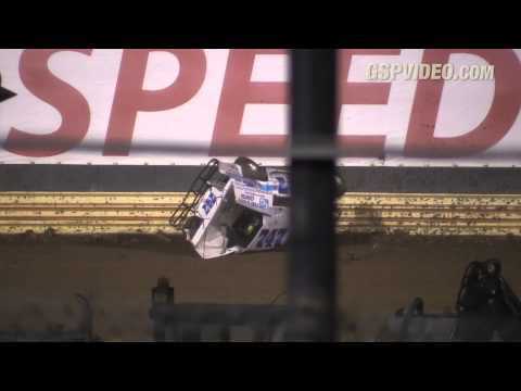 Ryan Godown Heat Race Flip - 8/25/2015 - New Egypt Speedway