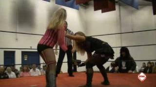 Scwa Wrestling Persephone Vs Kristin Flake 3-27-2010