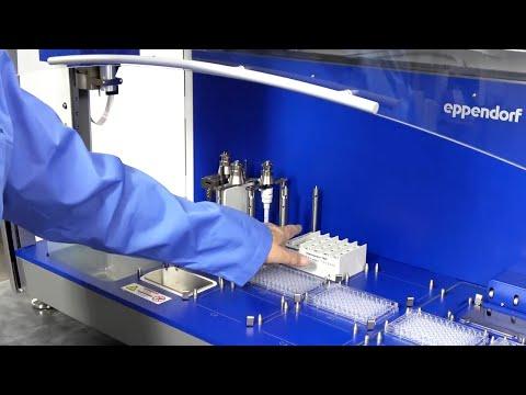 Eppendorf EpMotion 5075 TMX Thermomixer Liquid Handling Workstation With EpBlue Software