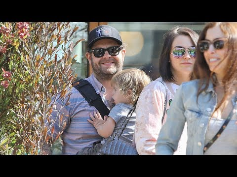 Jack Osbourne Takes The Family Out To Dinner At Soho House In Malibu