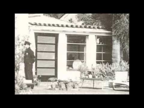 Marilyn Monroe House Brentwood marilyn monroe's last home - then and now - youtube