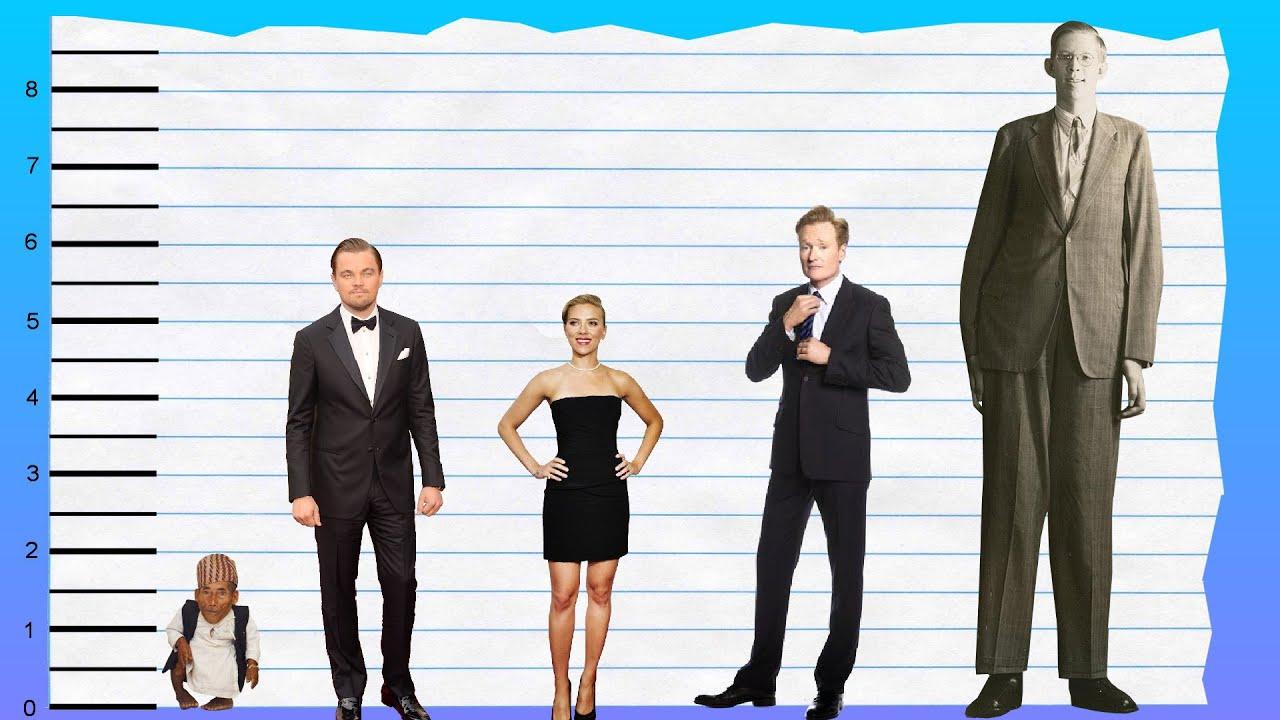 How tall is Leonardo DiCaprio? 16
