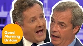 Top Ten Heated Arguments! | Good Morning Britain