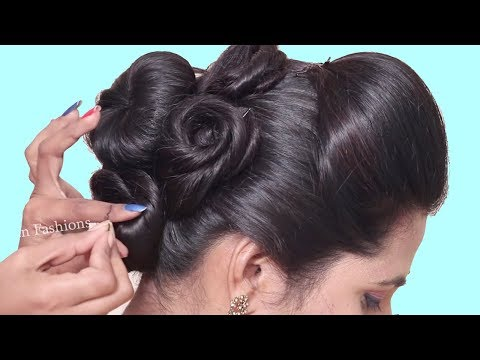 Easy Hairstyles for Medium Long Hair | hair style girl | Easy hairstyle for girls | Bun hairstyles