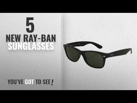 top-10-ray-ban-sunglasses-[-winter-2018-]:-ray-ban-rb2132-new-wayfarer-sunglasses-unisex-(matte