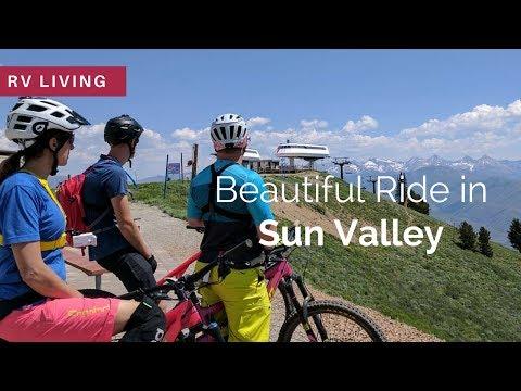 RV Living | Mountain Biking in Sun Valley, Idaho