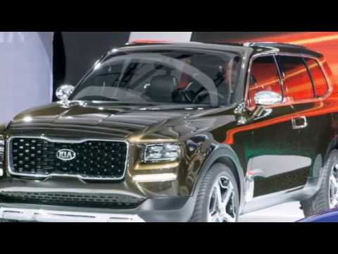 KIA Telluride SUV Productions News and Review