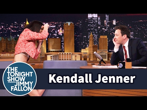 Thumbnail: Jimmy Fallon Models for a Kendall Jenner Photo Shoot