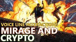 Mirage & Crypto Interaction Voice Lines - Apex Legends