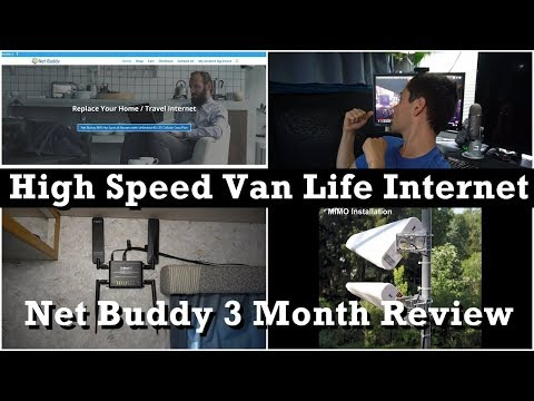 Van Life High Speed Unlimited Internet: Net Buddy Review after 3 months of daily use