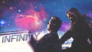 Twelfth Doctor and Clara Oswald - Infinity