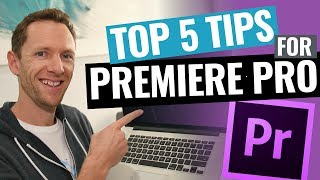 5 Adobe Premiere Pro Editing Tips to Edit Videos FASTER! thumbnail