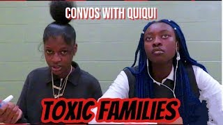 teenagers talk about toxic families