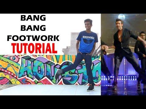 Hrithik Roshan BANG BANG Footwork Tutorial || Nishant Nair