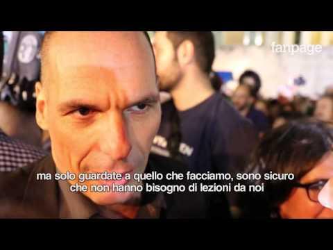 Grecia, Varoufakis: 'Gli italiani chiedano a Renzi rispetto per la nostra democrazia'