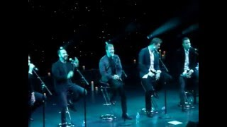 Backstreet Boys Cruise 2016 - Siberia Acoustic set