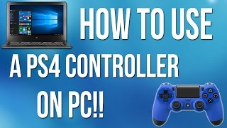 How To Use Ps4 Controller On Pc! (any Game)