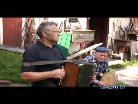 Ukraine. Village Accordion Player. Tragic Folk Song