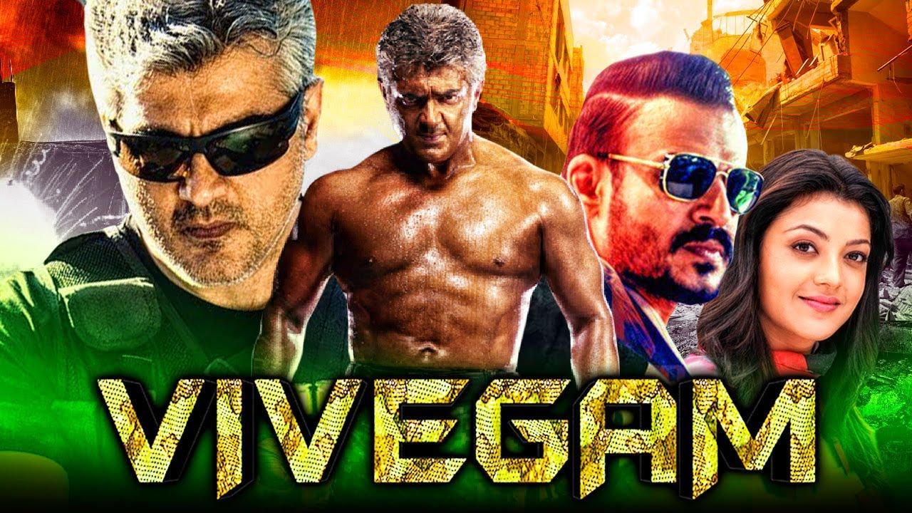 Download Vivegam - Tamil Action Hindi Dubbed Full Movie   Ajith Kumar, Vivek Oberoi, Kajal Aggarwal