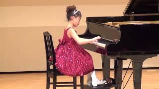 平成24年3月20日 ピアノ発表会 2012.3.20 ソナチネ Op55,No1 クラーウ.