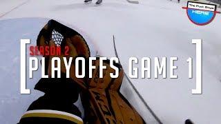 2018 PLAYOFFS | GoPro Hockey Goalie [HD] - GAME 1