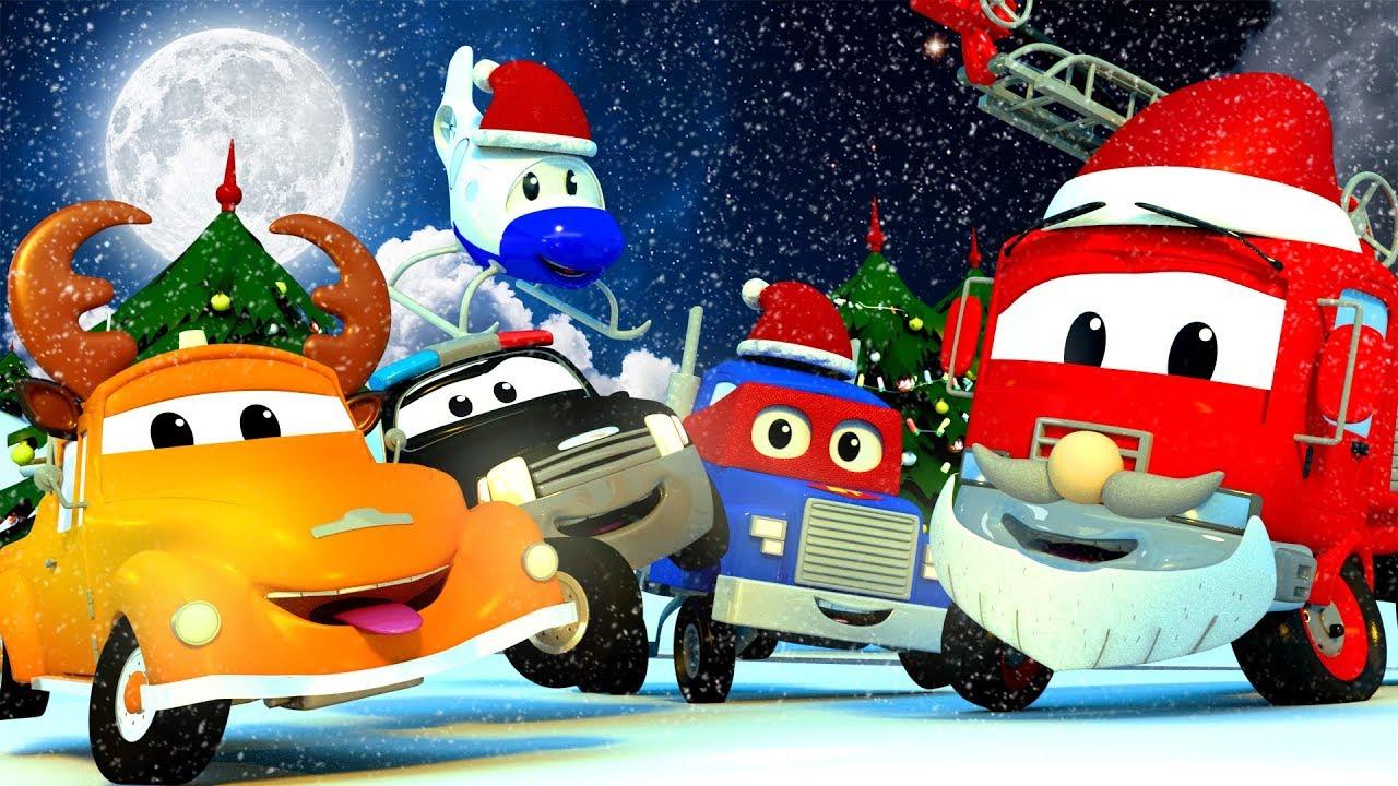 Compilacion De Navidad Auto City Celebra Navidad Papa Noel