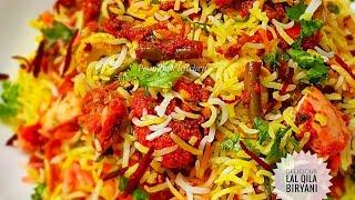Delicious Rice Recipe Vegetarian - Veg Biryani Recipe/ Lal Qila Biryani Recipe - How to make Biryani