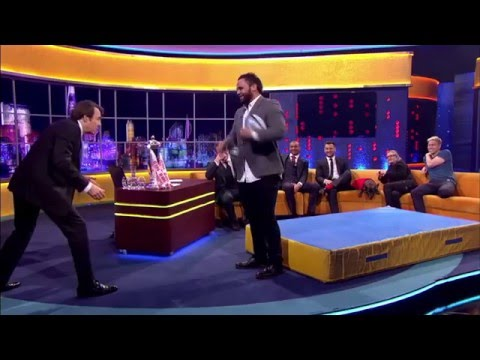 Dylan Hartley, Billy Vunipola, Danny Care, Jonathan Joseph on The Jonathan Ross Show | 26 March 2016