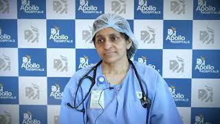 Dr Jayalakshmi T K, speaking on Pneumonia During COVID-19
