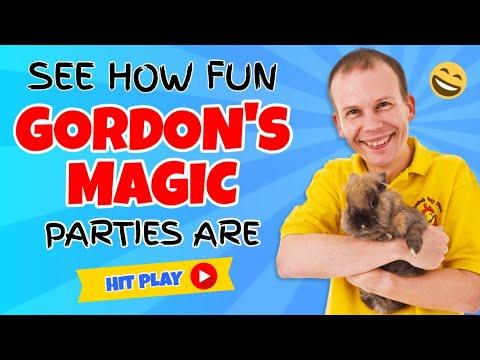 Gordons Magic - Birthday Party Magician